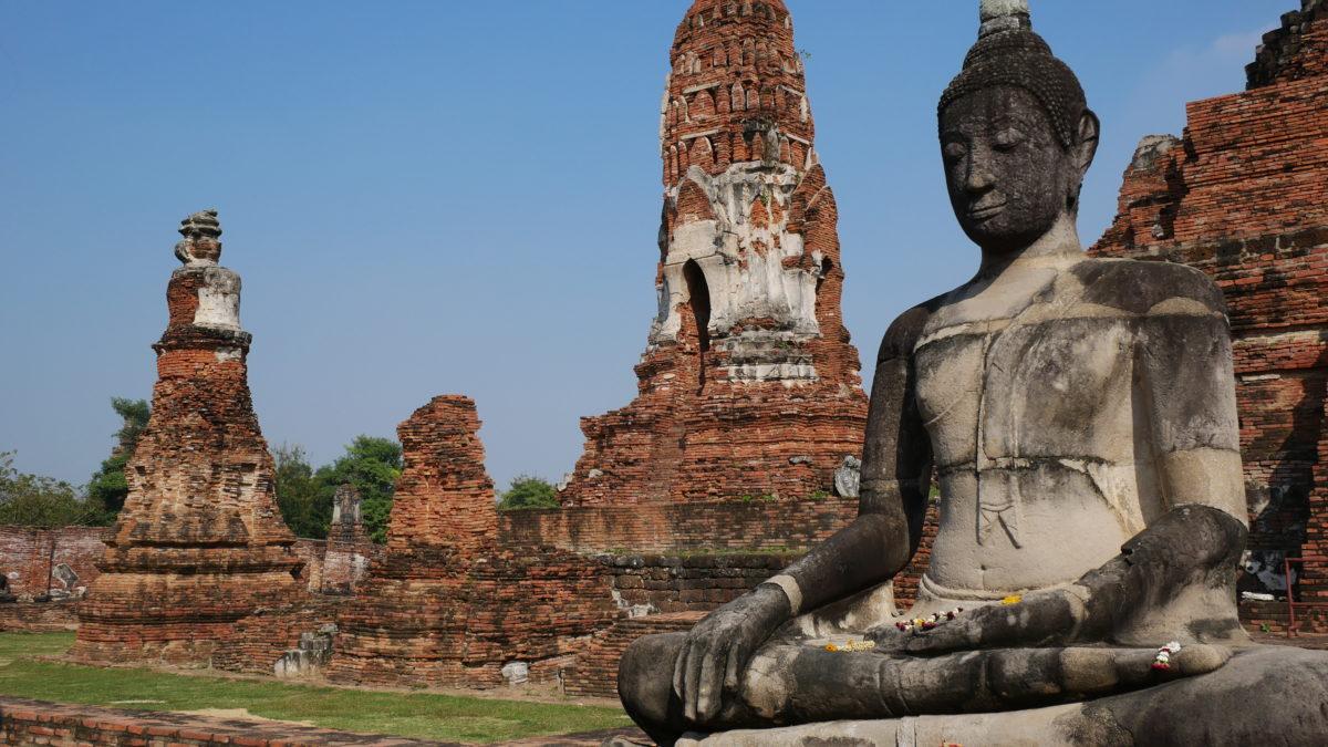 Que mahathat - Parque Histórico Ayutthaya