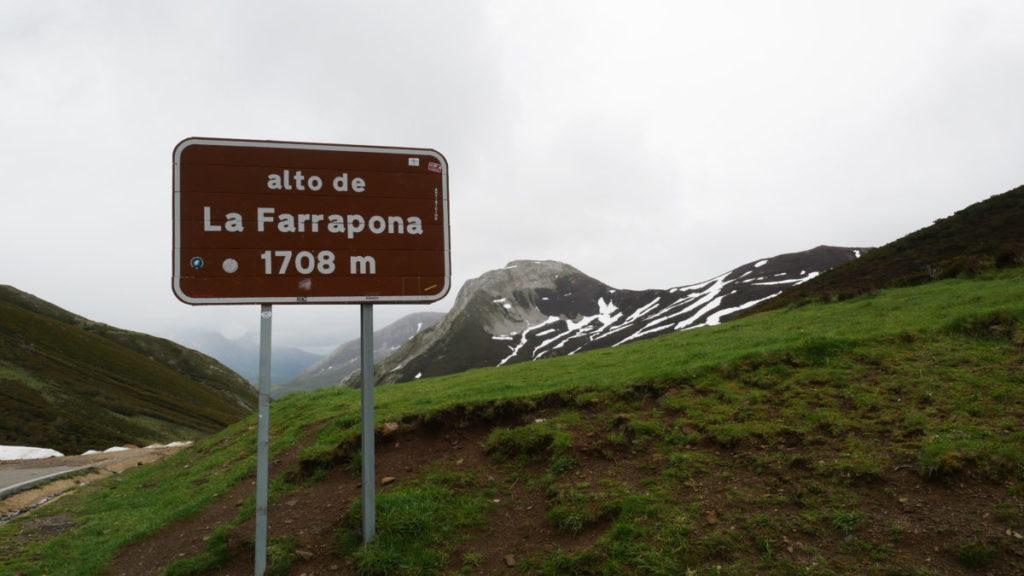 Asturias que ver en el alto de la farrapona