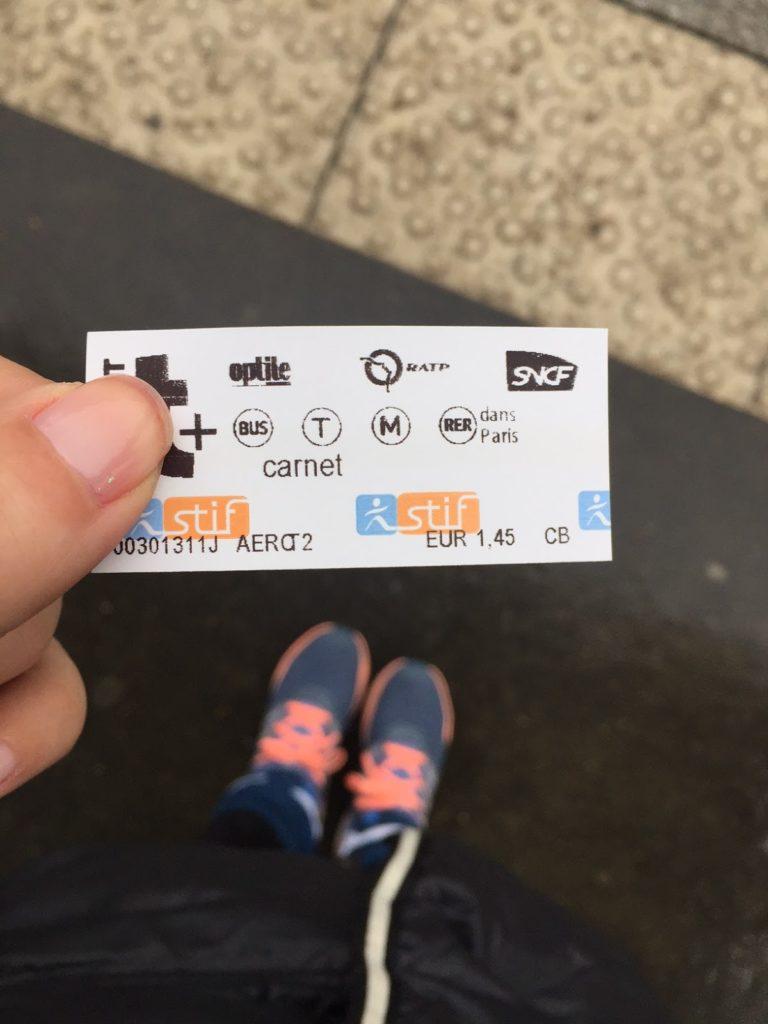 Paris que ver en 3 días ticket para ir del aeropuerto al centro de paris