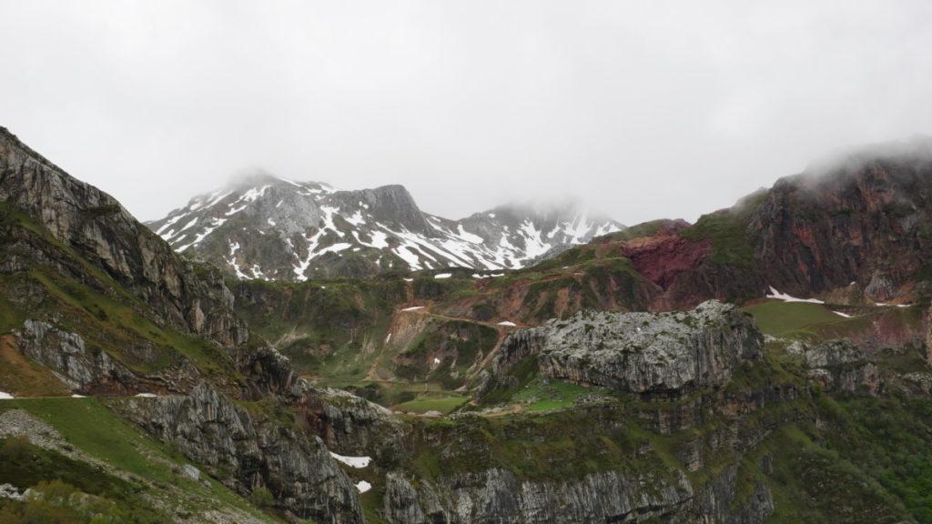 Foto tomada desde lo Alto de la Farrapona, Asturias.