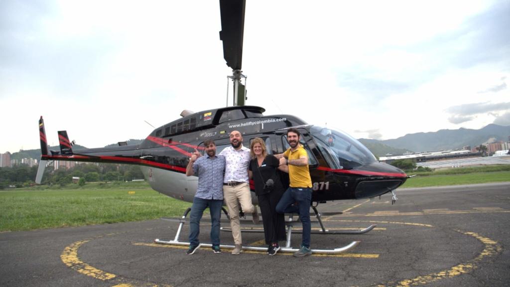 los 10 imprescindibles de Medellín sobrevolar en helicóptero la ciudad