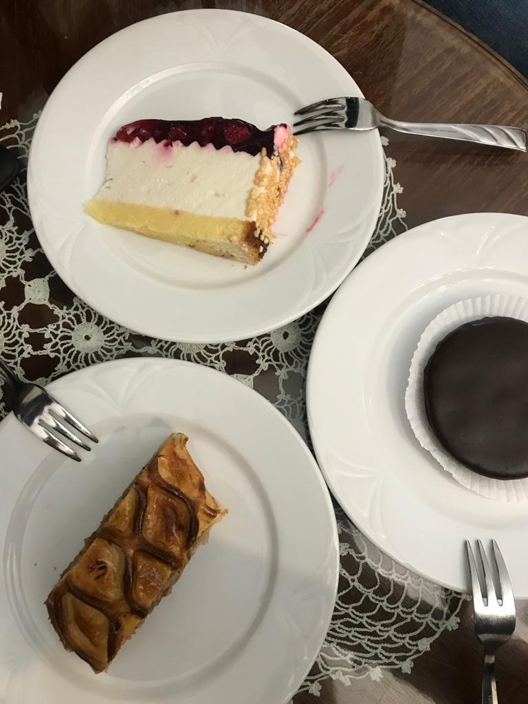 BUDAPEST, QUÉ VER EN 3 DÍAS pasteles de ruszwurm