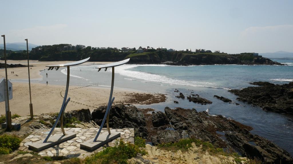 tapia de casariego qué ver playa del anguileiro donde se celebra el campeonato internacional de surf