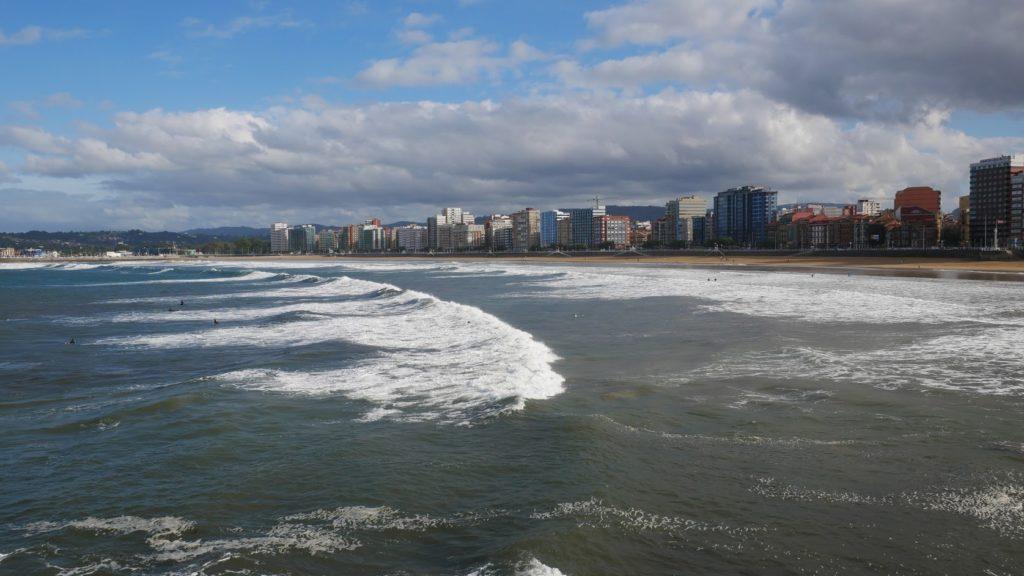 Gijon que ver playa de san lorenzo