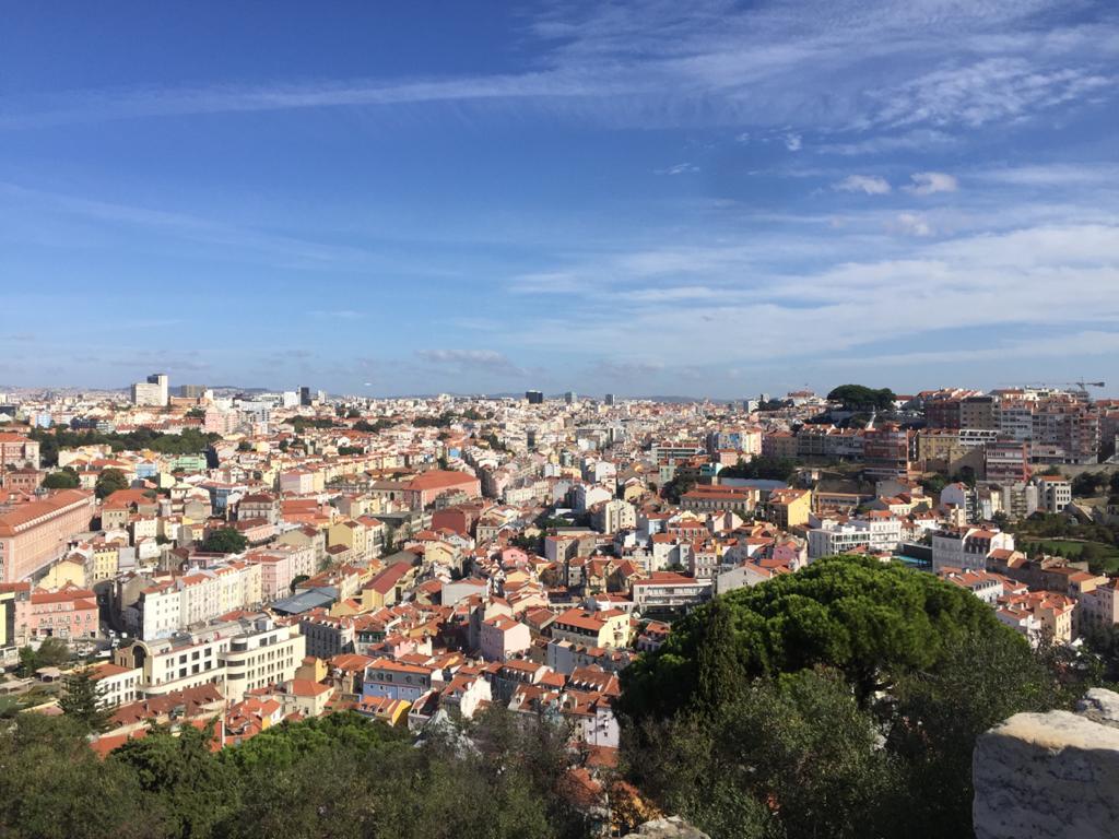 lisboa que ver en 3 días vistas desde el castillo de san jorge