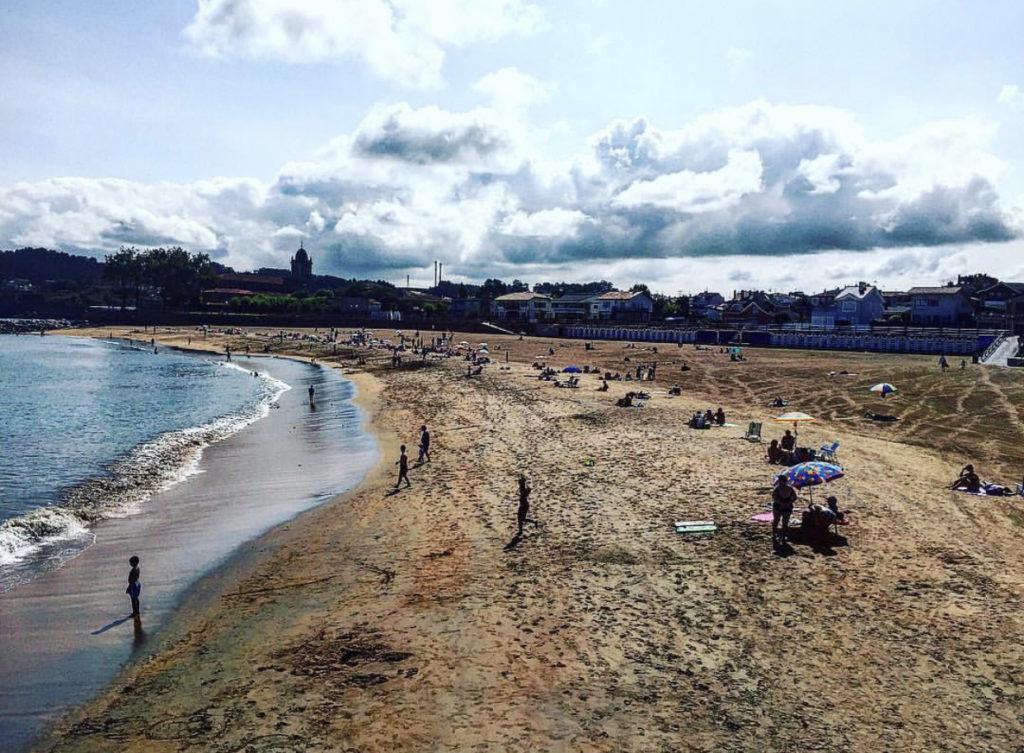 qué ver en Luanco, playa de santa marína