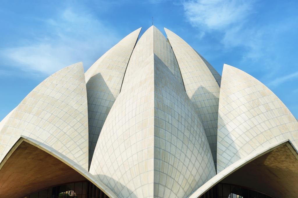 qué ver en delhi, templo de loto