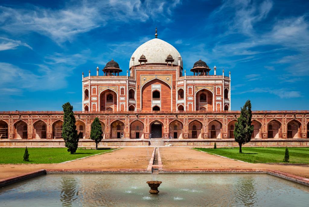 Qué ver en Delhi, templo de Humayan