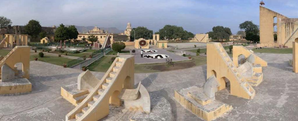 qué ver en jaipur, imagen del observatorio jantar mantar